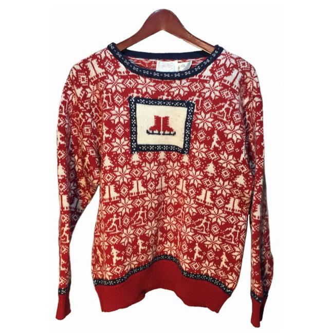 Item - Women's Size 38 Red White Sweater