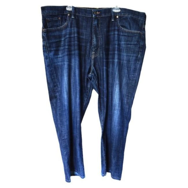Item - Blue Medium Wash Straight Relaxed Fit Jeans Size 28 (Plus 3x)