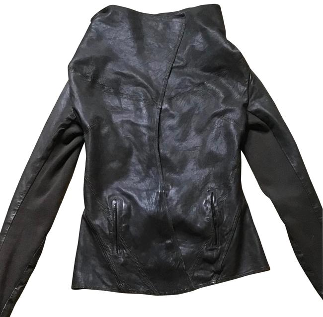 Item - Brown Spitalfield Leather Edgy Jacket Size 10 (M)