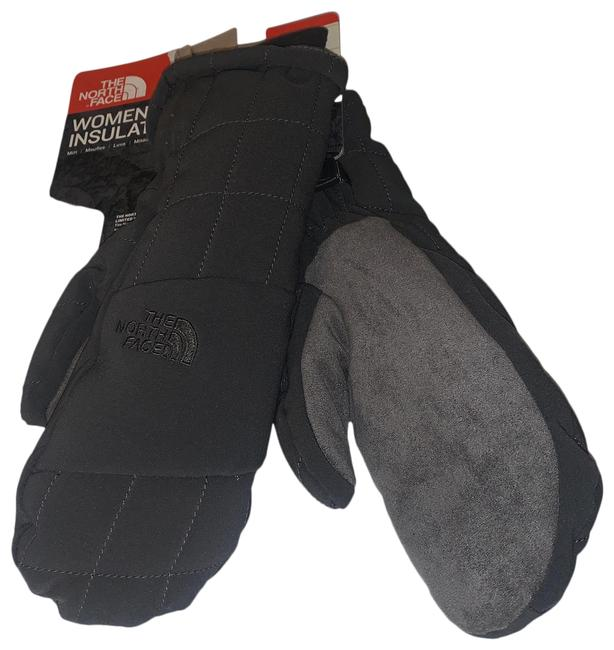 The North Face Grey XS Women's Pseudio Insulated Mitt Scarf/Wrap The North Face Grey XS Women's Pseudio Insulated Mitt Scarf/Wrap Image 1