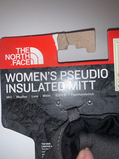 The North Face Grey XS Women's Pseudio Insulated Mitt Scarf/Wrap The North Face Grey XS Women's Pseudio Insulated Mitt Scarf/Wrap Image 6