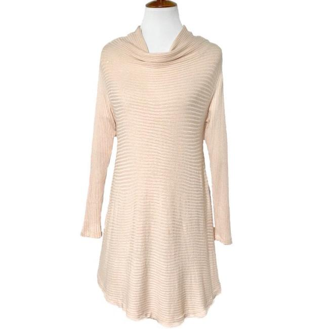 Item - Pink Blush Back Keyhole Knit Tunic Size 10 (M)
