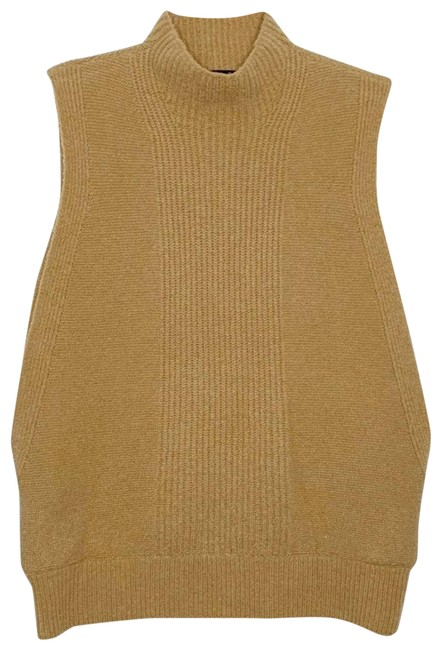 Item - Mojave Envelope Vest Tan Sweater
