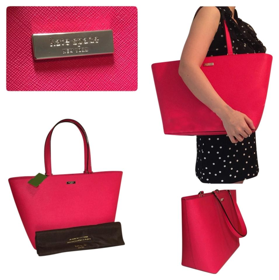 d78fe096939c Kate Spade Newbury Saffiano Leather Large Jules Harmony Shoulder Pink Tote