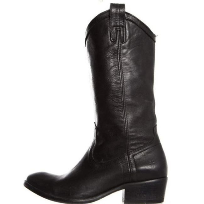 Item - Black Billy Pull On Boots/Booties Size US 6 Regular (M, B)