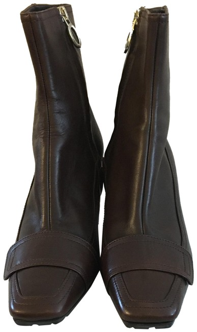 Item - Brown Ankle Boots/Booties Size EU 35 (Approx. US 5) Regular (M, B)