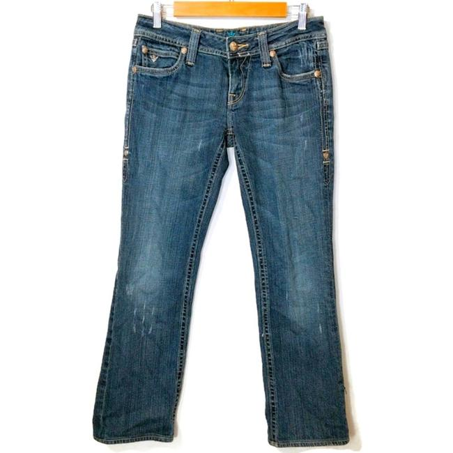 Item - Blue Sang Real By Dark Wash Boot Cut Jeans Size 28 (4, S)