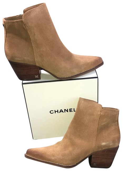 Item - Tan Welle Camel Suede Ankle Boots/Booties Size US 9.5 Regular (M, B)