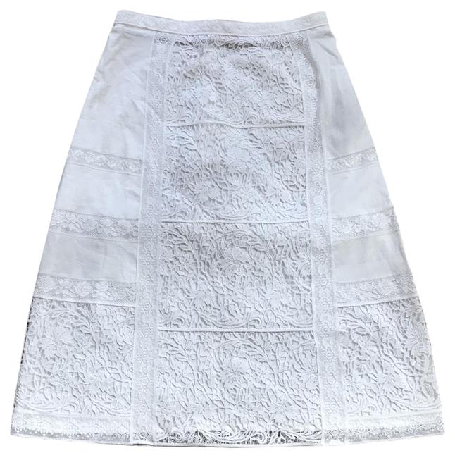 Item - White Drin Lace Skirt Size 2 (XS, 26)