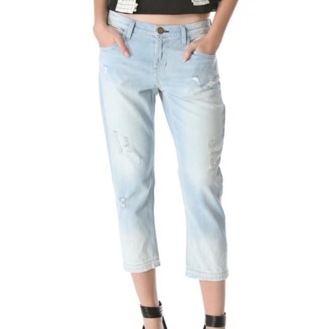 Item - Blue Light Wash Carpenter Distressted Relaxed Fit Jeans Size 29 (6, M)
