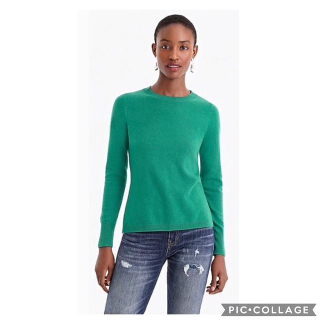 Item - Crewneck Cashmere Green Sweater