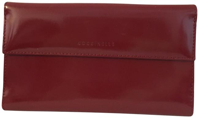 Item - Wine Shiny Leather Wallet