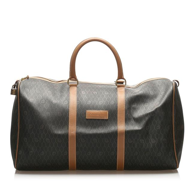 Item - Honeycomb Brown Leather Weekend/Travel Bag