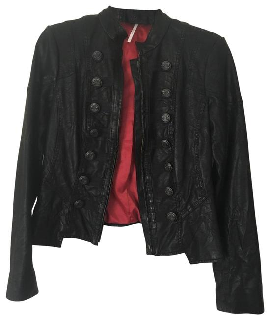 Item - Black Red F539j0590010 Jacket Size 2 (XS)