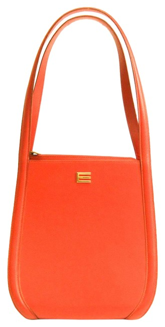 Item - Bag Women's Red Brown Leather Tote