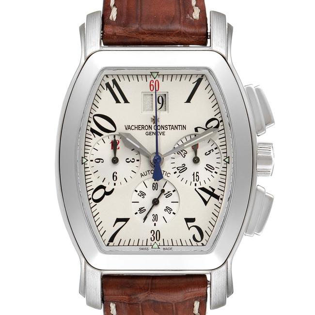 Item - Silvered Royal Eagle Chronograph Dial 49145 Watch