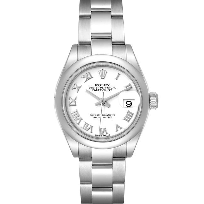 Item - White Box Datejust 28 Dial Steel Ladies 279160 Card Watch
