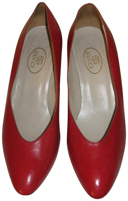 Item - Red Vintage Leather Pumps Boots/Booties Size US 9 Regular (M, B)