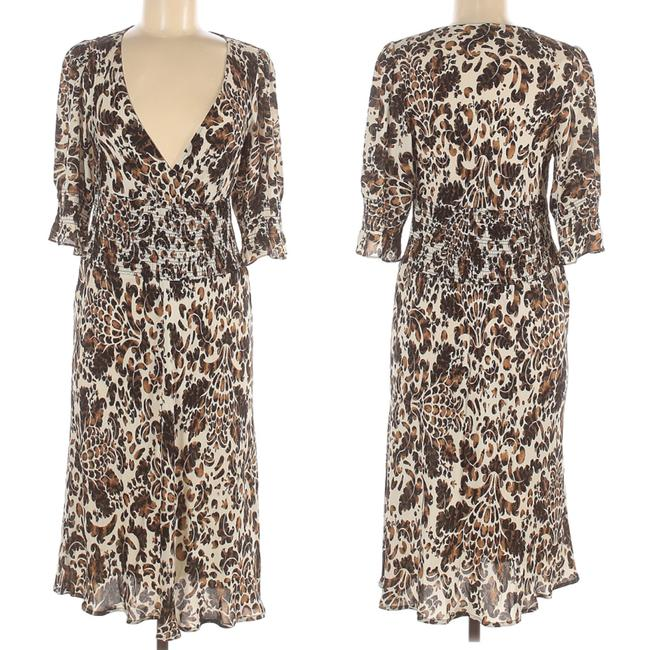 Item - Brown Day Mid-length Casual Maxi Dress Size 8 (M)
