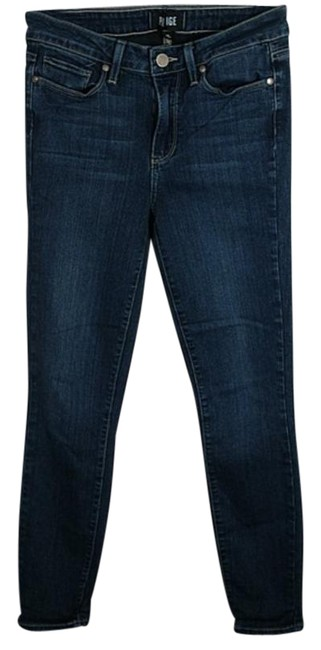 Item - Blue Dark Rinse Hoxton Ankle Skinny Jeans Size 26 (2, XS)