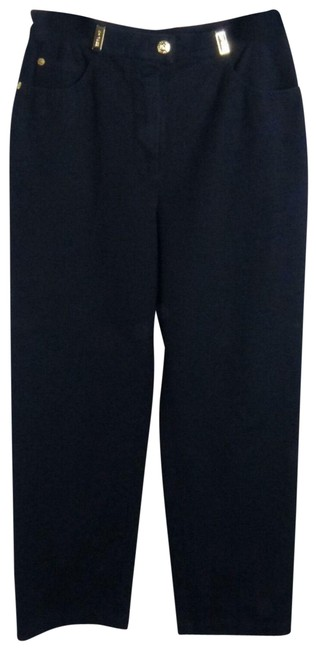 Item - Black Sport By Marie Gray Cruise Stretch Chino Capri/Cropped Jeans Size 29 (6, M)