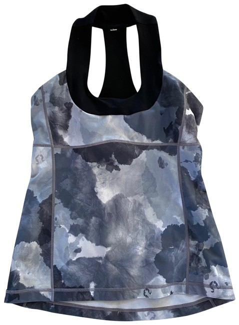 Item - Gray Black White Like New Tie Dye Tank Activewear Top Size 8 (M)