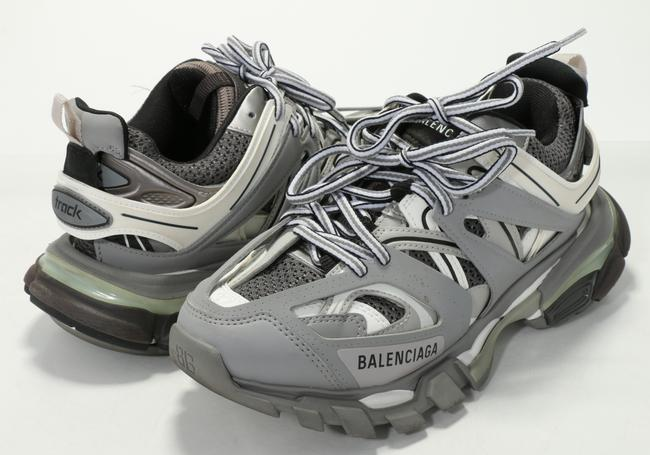 Item - Gray Clear Sole Sneakers Shoes