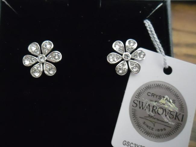 Item - Clear Flower Expression By Nic and Syd Earrings