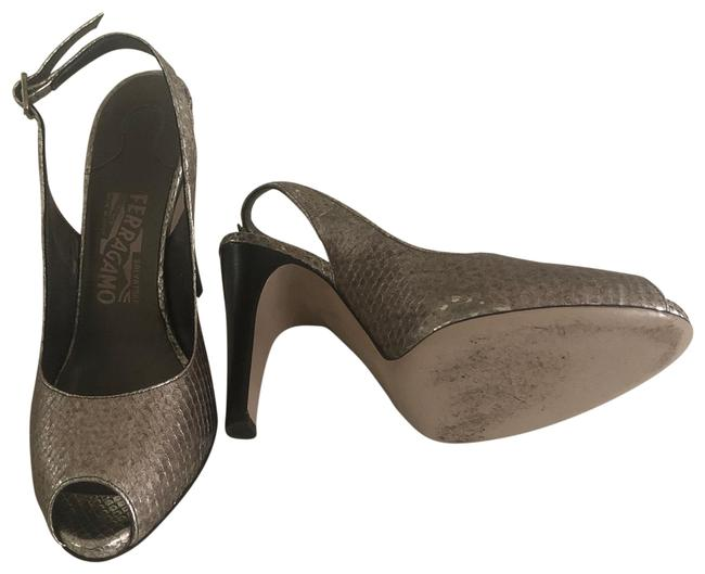 Item - Silver Giglio Ben Pumps Size US 7.5 Wide (C, D)