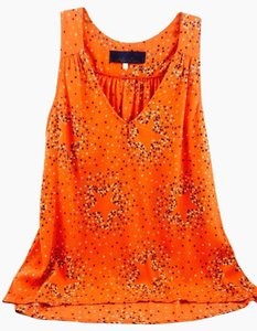 Blue Rain Top Orange