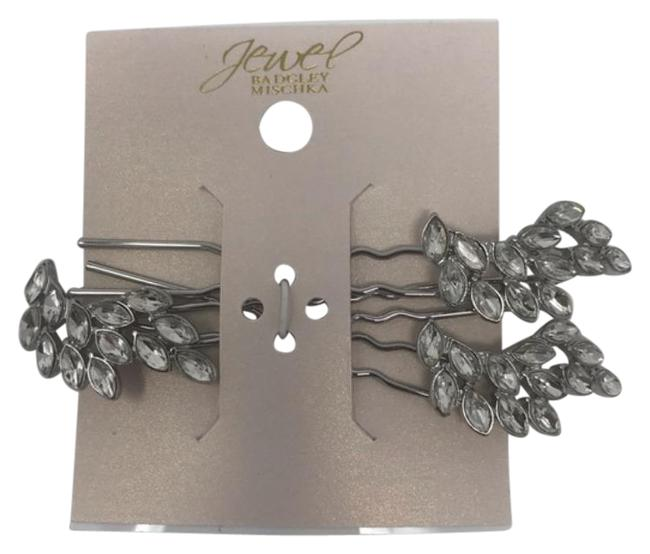 Item - Silver Jewel By Tone Pins Hair Accessory