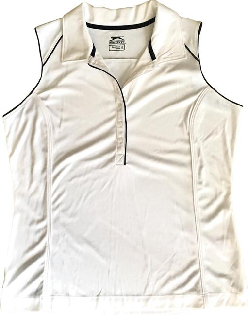 Item - White Golf Blouse Activewear Top Size 12 (L)