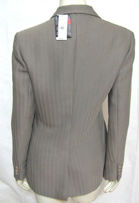 New York & Company Jacket Women Size 6 Small Gray With Tags Nwt Gray Taupe Blazer
