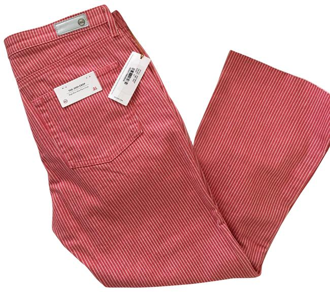 Item - Red Crop - - 31 Pants Size 10 (M, 31)