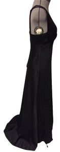 Calvin Klein Sleeveless Ball Gown Train A-line Full Length Dress
