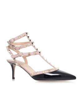 Item - V10028 Rockstud Patent Leather Caged 65mm Pumps