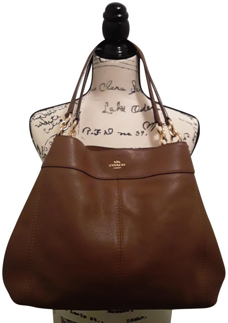 Item - Phoebe Hobo Pebbled and Wallet Saddle Brown Leather Satchel