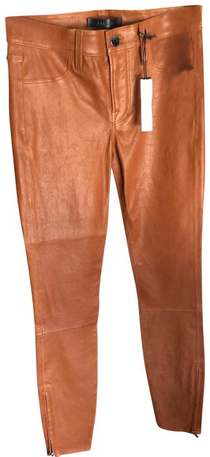 Item - Brown Leather Pants Size 0 (XS, 25)