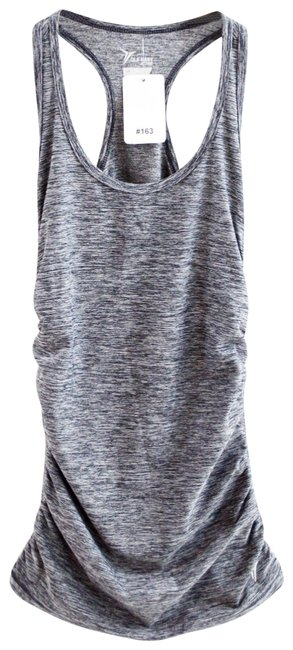 Item - Grey Tank #163-41 Activewear Top Size 4 (S)
