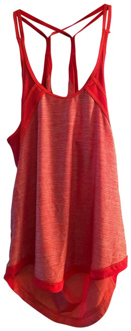 Item - Red Mesh Strappy Workout Tank Top/Cami Size 2 (XS)