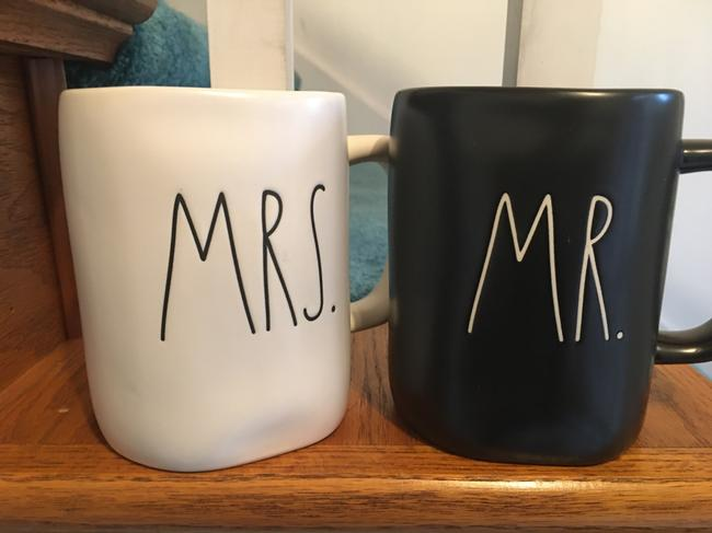 Item - Mr & Mrs Coffee Mugs 50% Off New Casual China