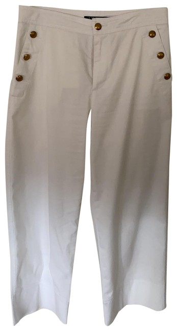 Item - White Cropped Pants Size Petite 4 (S)