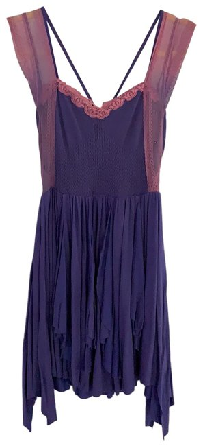 Item - Pink and Boho Fairy Short Casual Dress Size 4 (S)