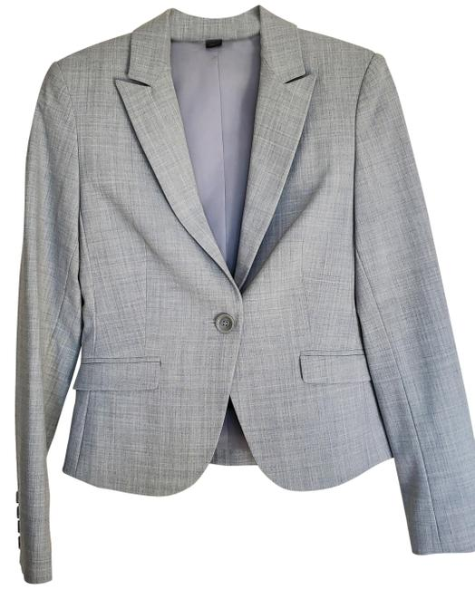 Item - Light Grey Blazer with Matching Skirt And Pant Suit Size 2 (XS)