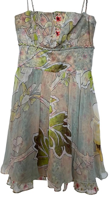 Item - Pastel Multi Colored Rn 84177 Short Night Out Dress Size 2 (XS)