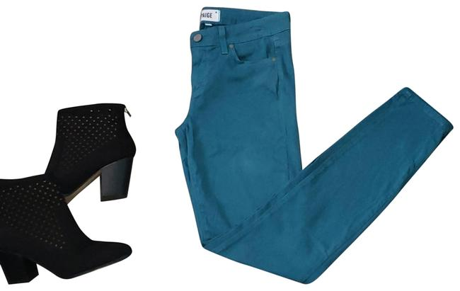 Item - Green Ankle Skinny Jeans Size 27 (4, S)