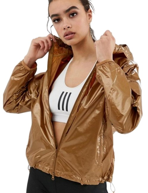 Item - Gold The Pack Wind Jacket In Activewear Size 12 (L)