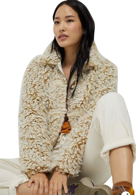 Item - Beige Brenna Faux Fur Coat Jacket Size 0 (XS)