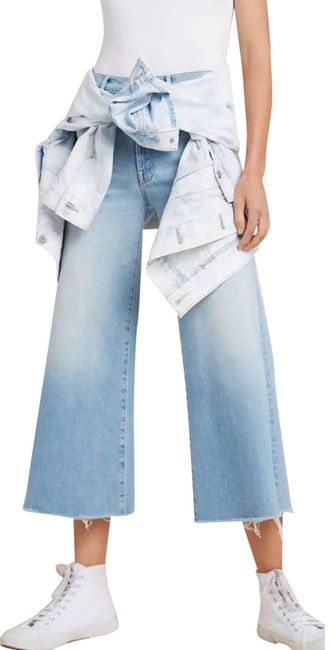 """Item - """"The Swooner"""" Wide Leg **nwt** Capri/Cropped Jeans Size 30 (6, M)"""