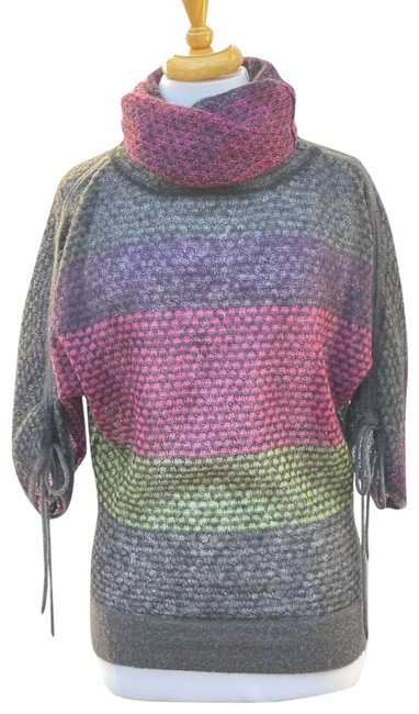 Item - Cowl-neck Knit -size Small Gray Sweater